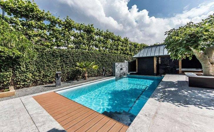 Backyard Swimming Pool Design Backyards Pools