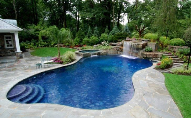Backyard Swimming Pools Designs Inground Kids Love Pool