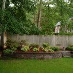 Backyard Wall Ideas Wonderful