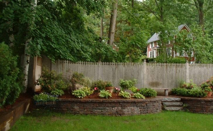Backyard Wall Ideas Wonderful