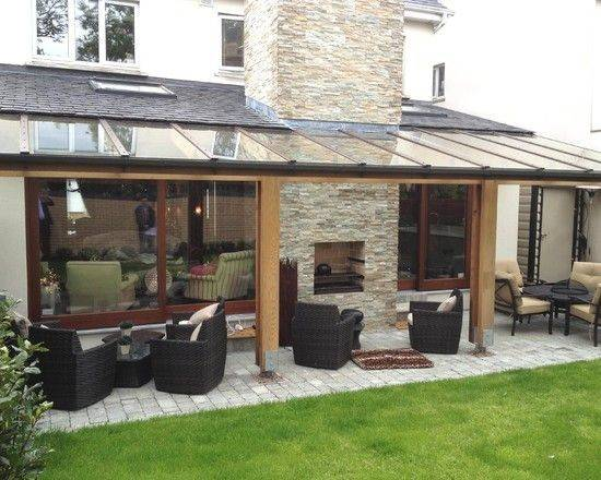Backyards Extensions House Ideas Roof