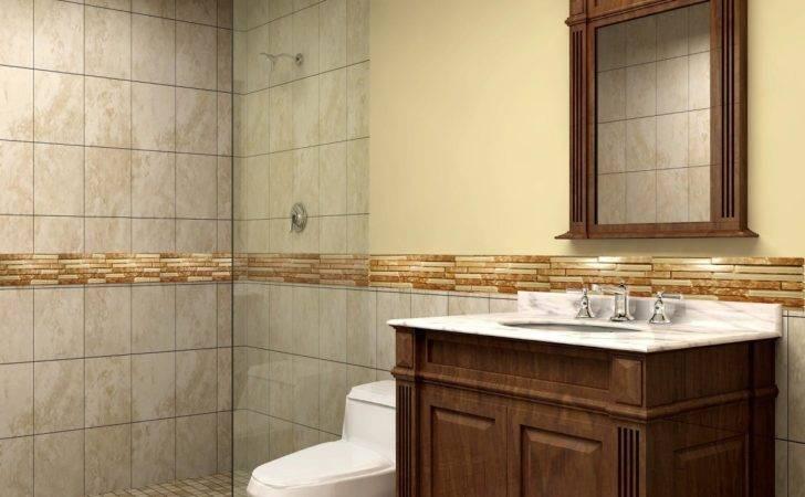 Bahtroom Nice Walk Shower Closed White Closet Amusing