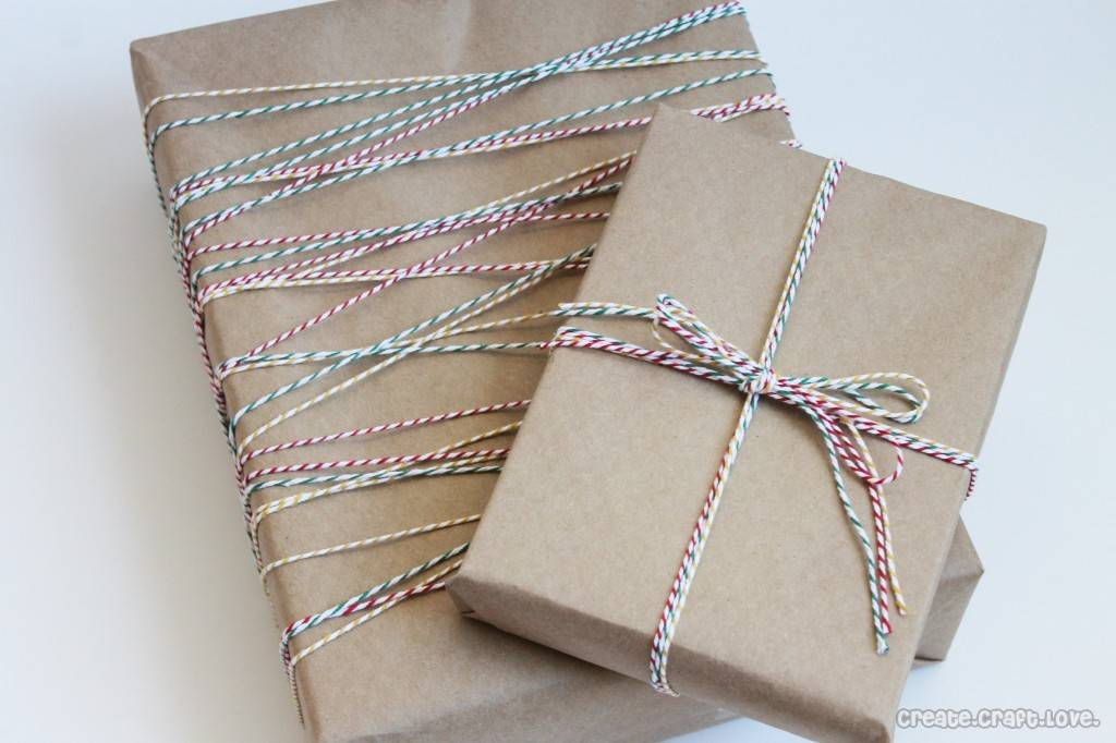 Baker Twine Gift Wrap
