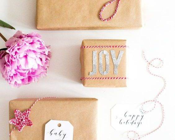 Bakers Twine Gift Wrap Kit Wrapping Wraps Christmas Gifts