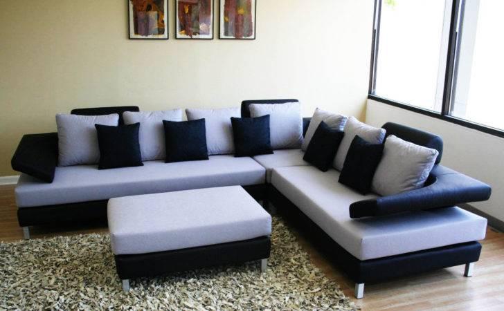 Balck Shape Sofa Set Design Living Room Home Advice