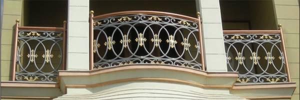 Balcony Grills Cast Iron Railings