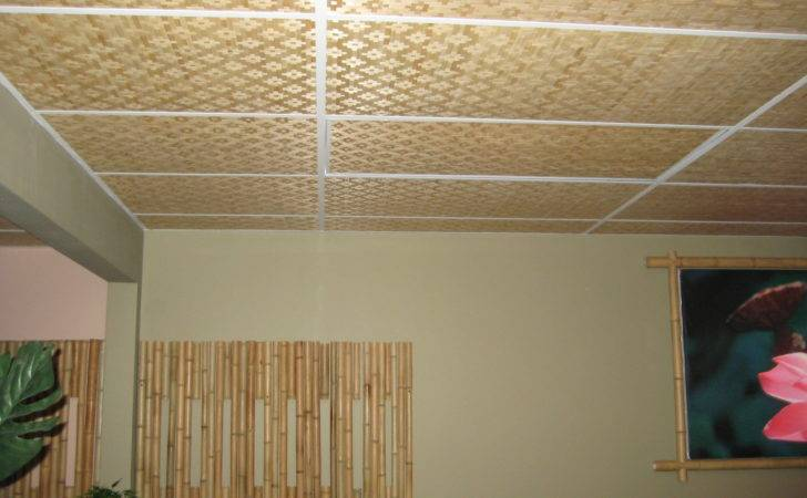 Bamboo Asian Thatch Wall Covering Woven