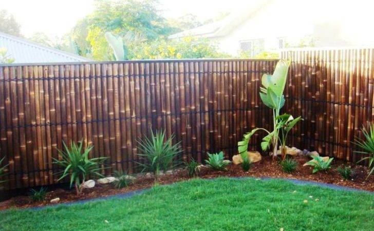 Bamboo Fence Panels Privacy Garden Screens Pool Spas Pimpama
