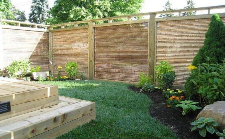 Bamboo Fencing Ideas Home Design
