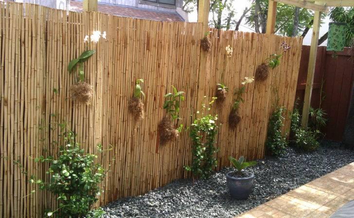 Bamboo Garden Fence Ideas Also Diy Additionally