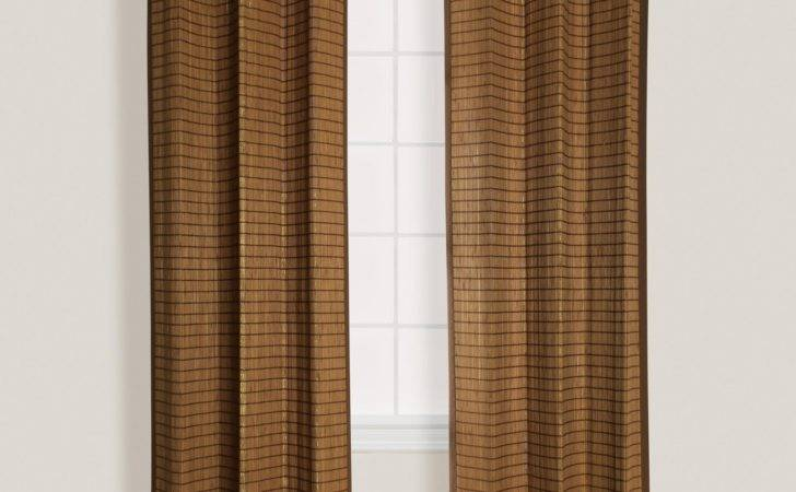 Bamboo Outdoor Curtain Products