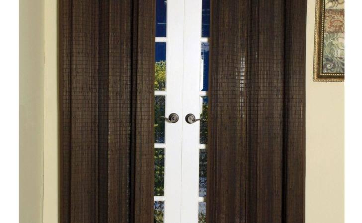 Bamboo Ring Top Curtain Panels