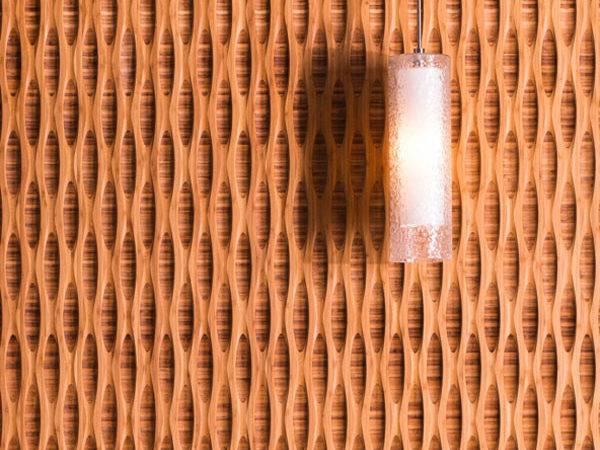 Bamboo Wall Panels Create Effect Interior Design