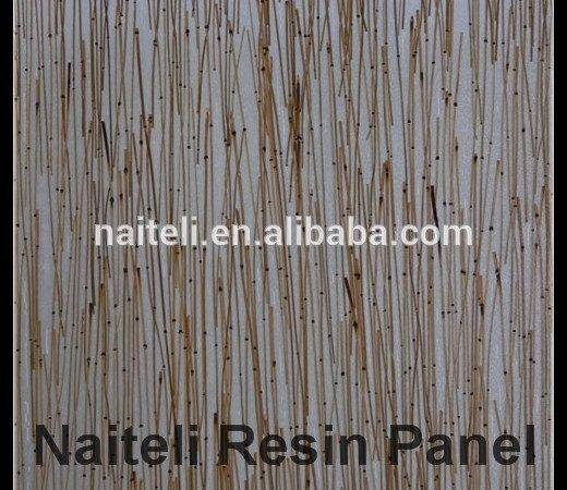 Bamboo Waterproof Bathroom Wall Covering Panels Manufactured Home
