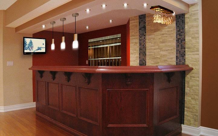 Bar Basement Design Ideas Cool
