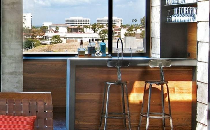 Bar Counter Design Together Divider Idea Room Interior