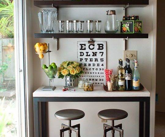 Bar Interior Design Mini Home Areas Floating