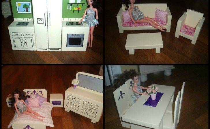 Barbie Doll Furniture Likewise Diy House