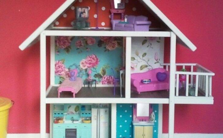 Barbie Doll House Diy Pinterest