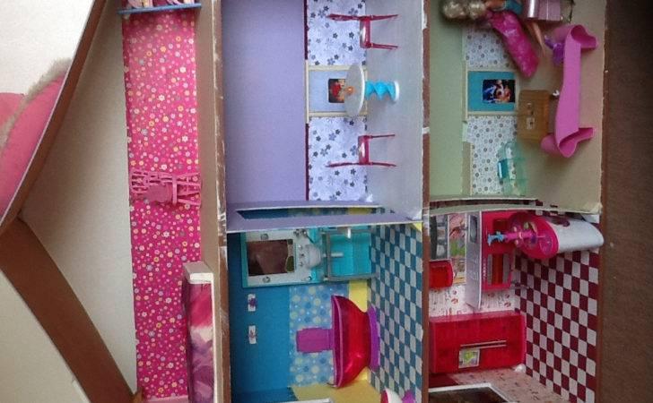 Barbie Dollhouse Diy Look Shaunda Pinterest