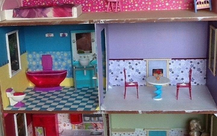 Barbie Dollhouse Diy Smart Pinterest