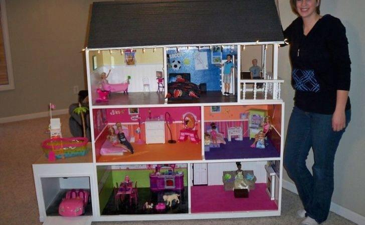 Barbie House Pinterest Diy Dollhouse Doll