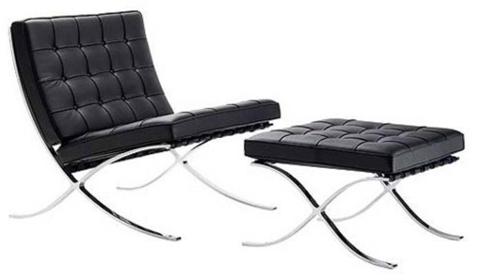 Barcelona Chair Created Ludwig Mies Van Der