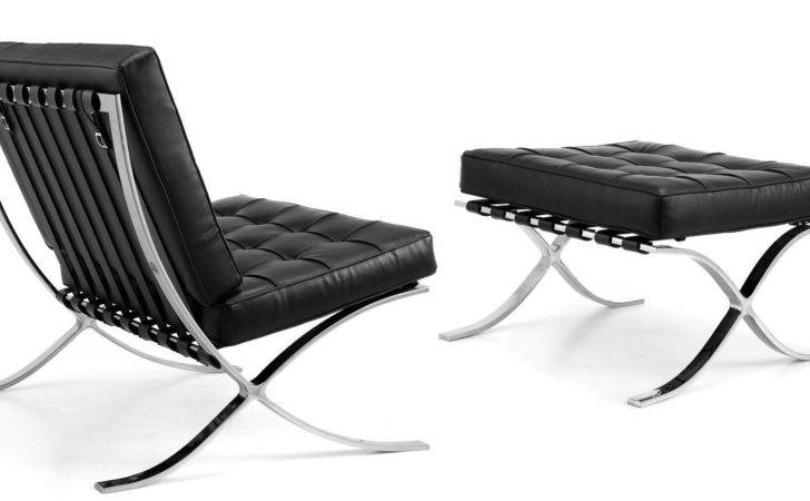 Barcelona Chair Designed Ludwig Mies Van Der Rohe Created
