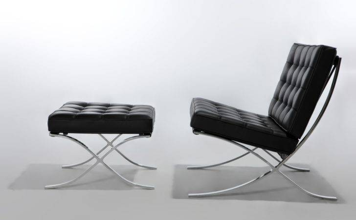 Barcelona Chair Designed Ludwig Mies Van Der Rohe Lilly