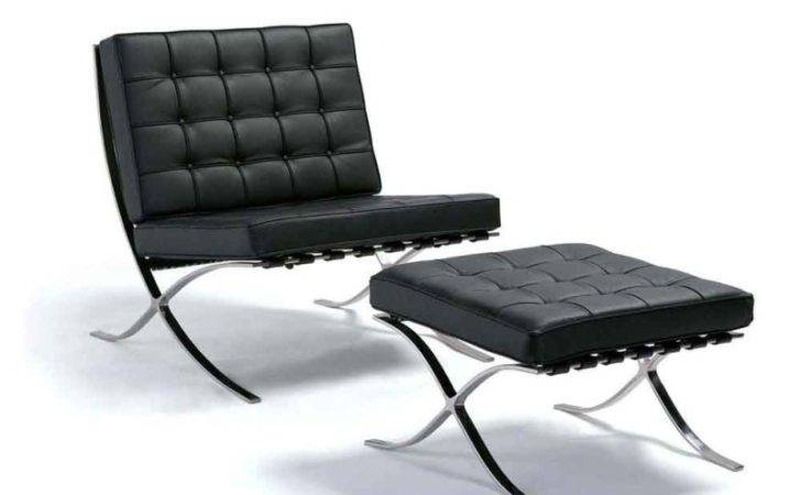 Barcelona Chair Ottoman Buy Classic Replica