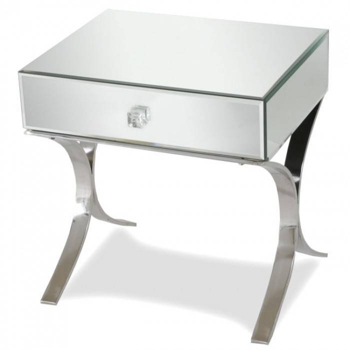 Barcelona Mirrored Bedside Table