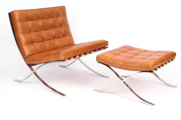 Barcelona Ottoman Chair Shbarcelona
