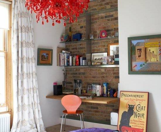 Bare Brick Wall Alcove Teenage Girls Bedroom Ideas Housetohome
