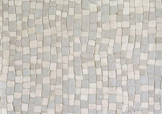Bark Birch Stone Mosaic Rustic Tile Other Metro New Ravenna