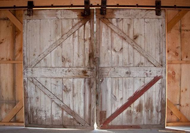 Barn Door Hardware Old