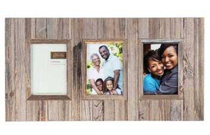 Barn Slat Opening Collage Frame Shabby Chic Decor Rustic Ebay