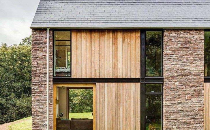 Barn Style Stone Home Homebuilding Renovating