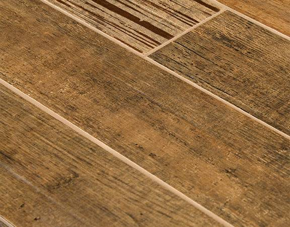 Barrique Series Brun Wood Plank Porcelain Tile Traditional Wall