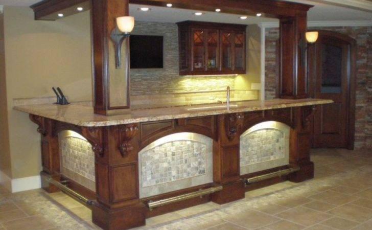 Basement Bar Designs Ideas