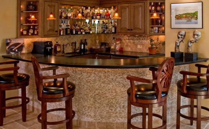 Basement Bar Designs Wooden Chair