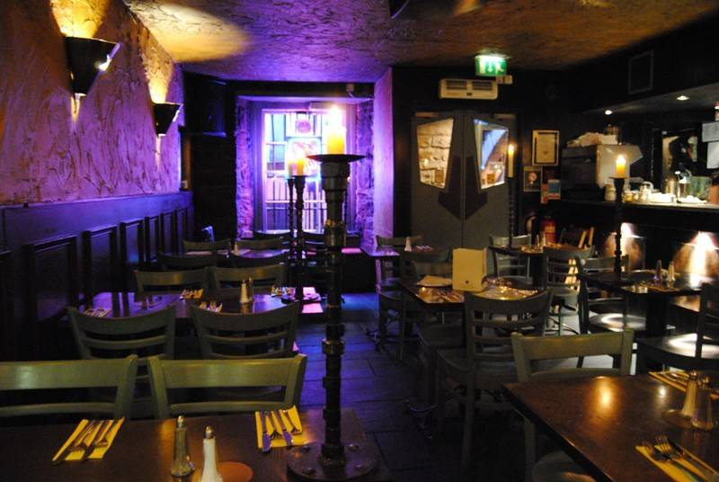 Basement Bar Restaurant Broughton Street Edinburgh