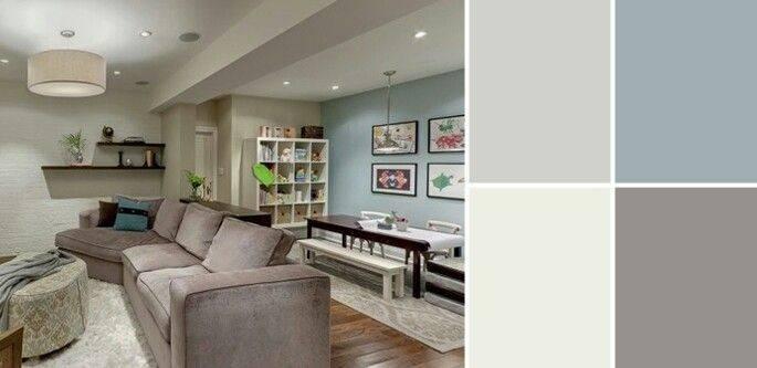 Basement Color Ideas More Living Room Palette Paint