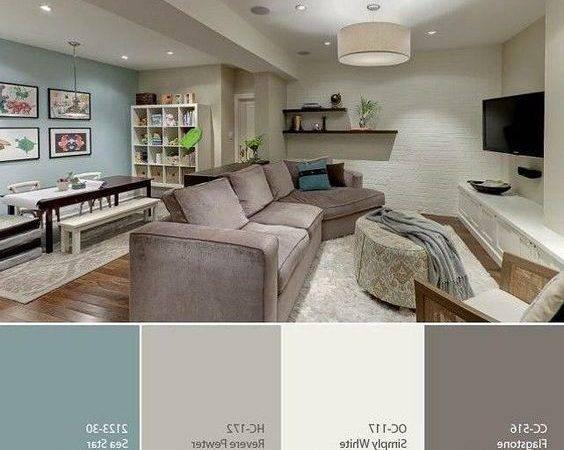 Basement Color Palette Great
