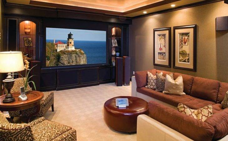 Basement Entertainment Room Future House Pinterest