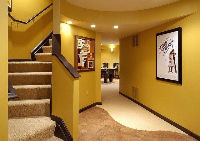 Basement Wall Color Thinking Yes Dream Home Pinterest