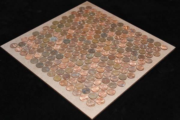 Basic Penny Floor Template Jig Tray Templates