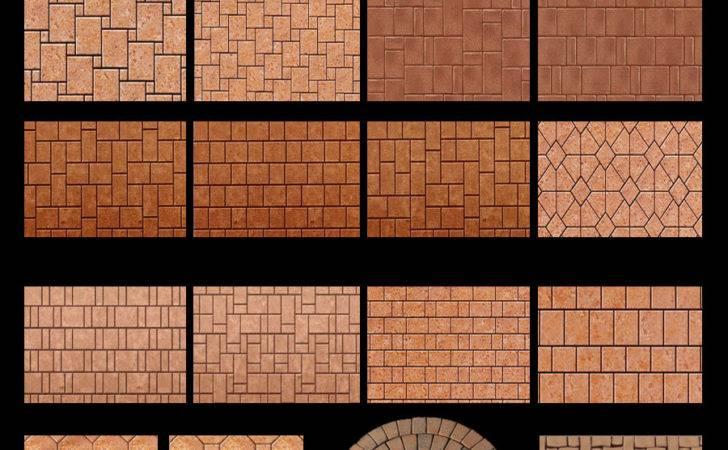 Basket Weave Brick Pattern Paver Patterns