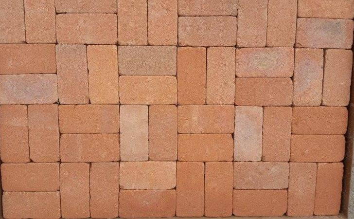 Basket Weaveclassic Blend Paver Variation Weaveused Clay Brick
