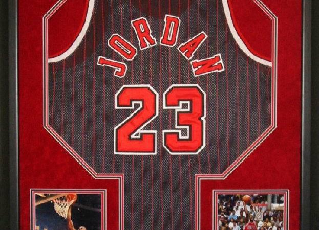 Basketball Jersey Framed