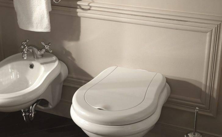 Bath Collections Retro Wall Mounted Ceramic Toilet Modo